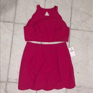 Lauren James 2 piece skirt and top